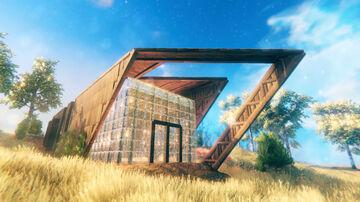 New Contemporary Structure Valheim Build