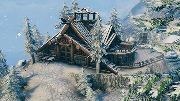 Viking Winter House Valheim Build