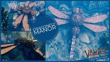 Dragonfly Manor Valheim Build
