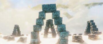 XIII World Map - Artic Henge - Ruins & Locations Valheim Build