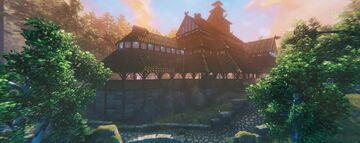 Odins Temple Valheim Build