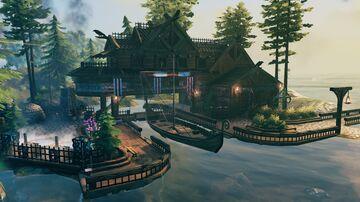 Dock house Valheim Build