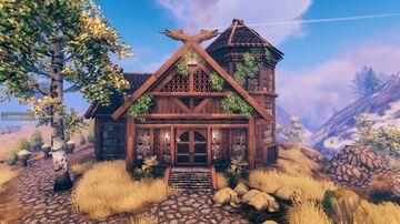 Skyrim's Tundra Homestead Valheim Build
