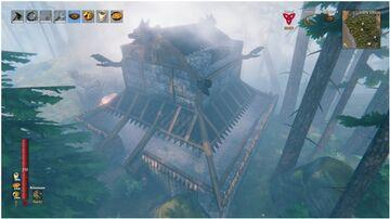 Temple in the Woods Valheim Build