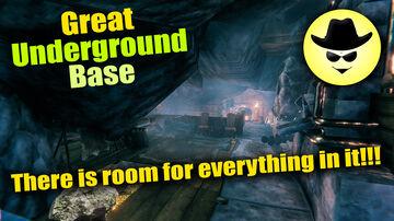 Great Underground Base for Valheim - Great Cave   Valheim Valheim Build