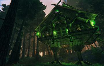 Baba Yaga's House Valheim Build