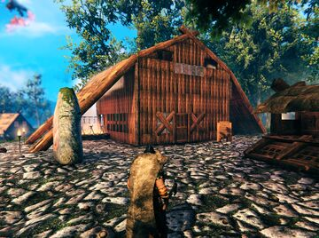 Inn without rooms Valheim Build